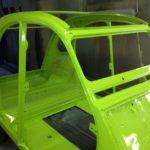 sablage et mise en peinture de carrosserie auto moto camion